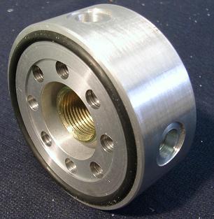 Adapteur permettant installation capteur pression/température d'huile